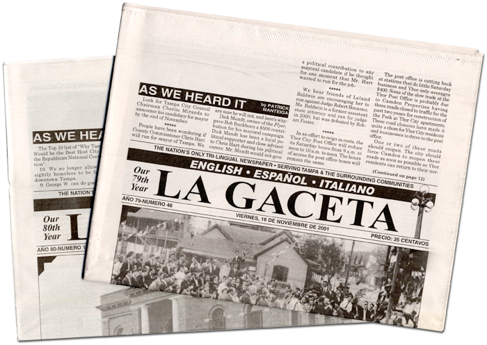 La Gaceta newspapers